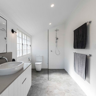 75 Most Popular Bathroom With White Walls Design Ideas For 2018