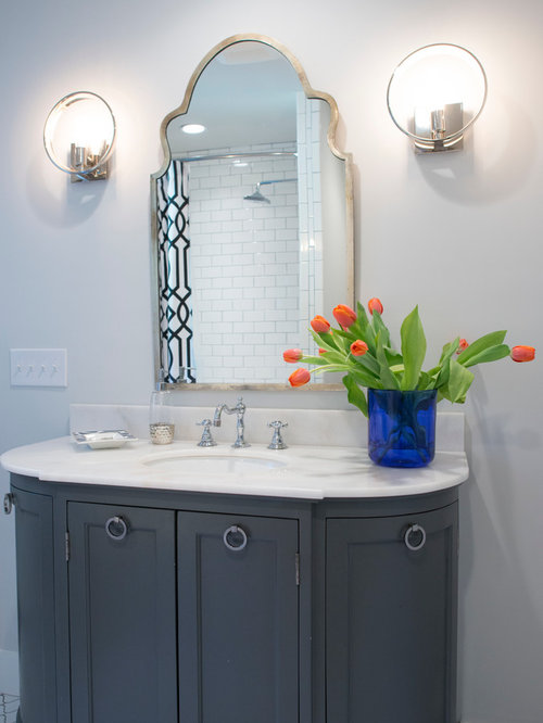 1950s ranch bathroom design ideas remodels photos with for Bathroom 1950 style