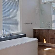 Modern Bathroom by Tierney Conner Design Studio