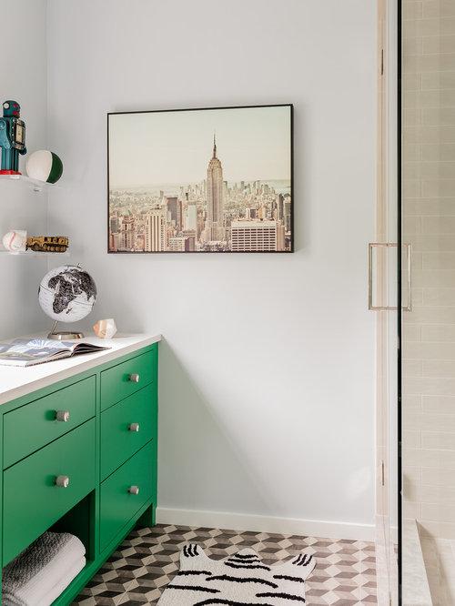 Bathroom Tiles For Kids kids bathroom ideas, designs & remodel photos | houzz