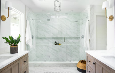 Trend Report: Showers Embrace Nature and Open-Plan Living