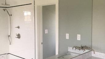 Large Custom Vanity Mirror, Multiple Cutouts