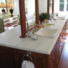 Traditional Bathroom by Tile & Stone Design Studio