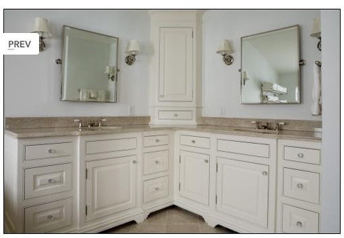L shaped vanity ideas pictures remodel and decor for Bathroom l shaped vanities
