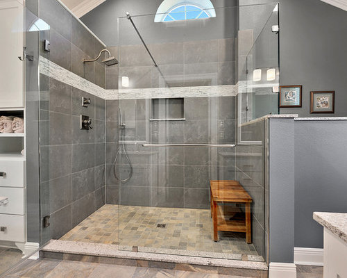 Bathroom Remodeling Baton Rouge baton rouge large tile shower bathroom remodel