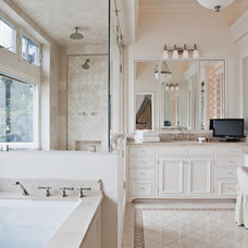 traditional bathroom by Tim Barber LTD Architecture & Interior Design