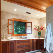 Tropical Bathroom by Nina Williams Designs