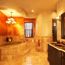Mediterranean Bathroom by Allen Companies