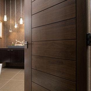 Bathroom - modern bathroom idea in Denver