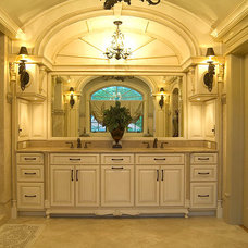 Traditional Bathroom by J Maness Designs