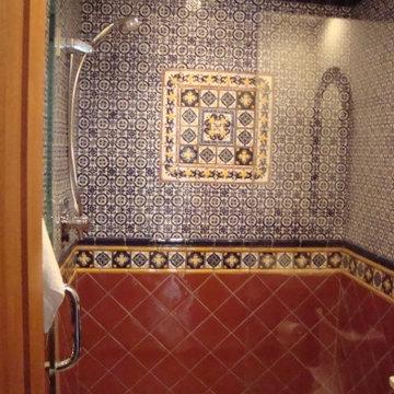 Latin Theme Bathrooms