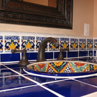 Mediterranean bathroom in San Luis Obispo.