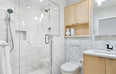 Before and After: 5 Stylish Bathrooms in 40 to 50 Square Feet