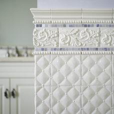 Traditional Bathroom by Laura Mannes Design, LLC