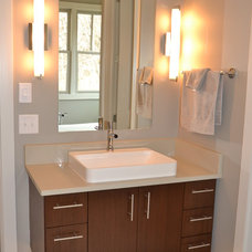 Contemporary Bathroom by Hearth & Stone Builders