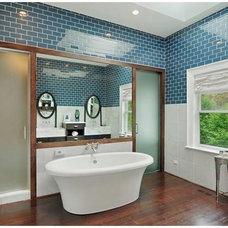 Modern Bathroom by Coda Design + Build