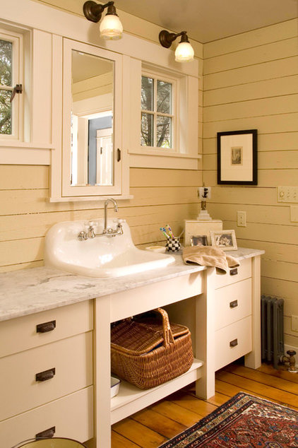 Traditional Bathroom by Sandra Lindsay Design