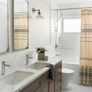 75 Beautiful Bathroom With Engineered Quartz Countertops