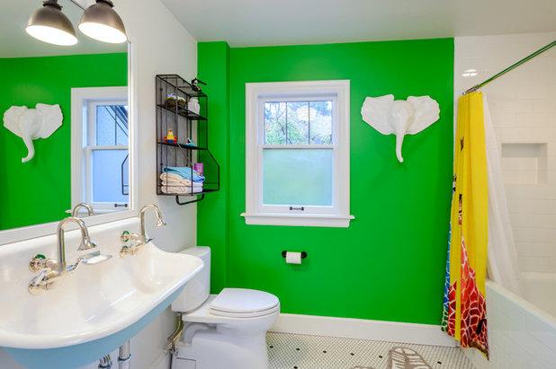 Inspirational Traditional Bathroom by Axiom Design Build