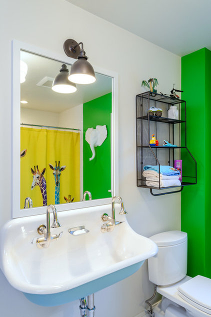 Traditional Bathroom by Axiom Design Build
