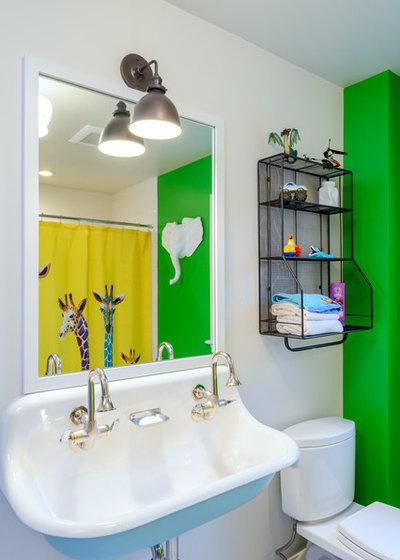 Ideal Traditional Bathroom by Axiom Design Build