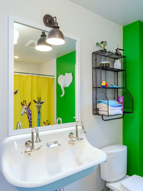 Inspiration For A Timeless Alcove Shower Remodel In Seattle With A  Two Piece Toilet,