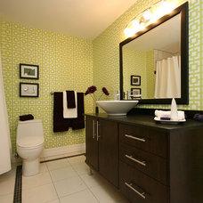 Contemporary Bathroom by 129 Dezign