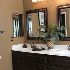 Transitional Bathroom by AMI Design & Associates