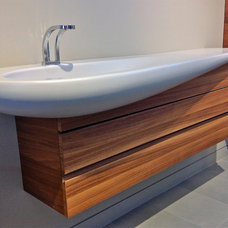 contemporary bathroom sinks by Cantu Bathrooms & Hardware