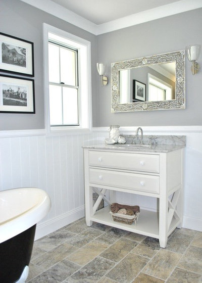 Traditional Bathroom by Sanctuary In Style