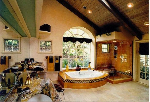 Eclectic Bathroom by Elaine Morrison Interiors