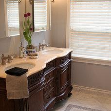 Eclectic Bathroom by Instinctive Design