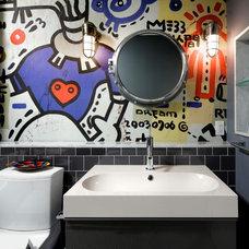 Contemporary Bathroom by Black General Contracting