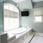 Jill Greaves Design Master Ensuite Freestanding Bath And