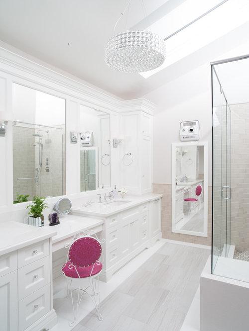 White bathroom home design ideas pictures remodel and decor for White bathroom remodel pictures
