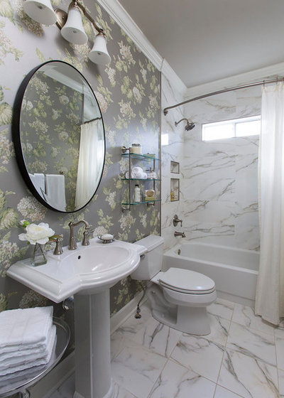 Traditional Bathroom by Leah Atkins Design, LLC