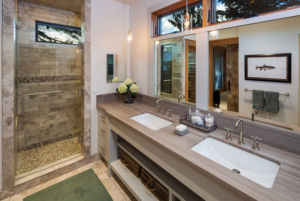 Contemporary Bathroom by Dovetail Construction