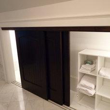 Modern Bathroom by Lacey Custom Carpentry