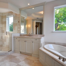 Mediterranean Bathroom by Marc Julien Homes LLC