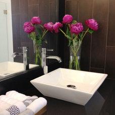 Contemporary Bathroom by Interiors by Maite Granda