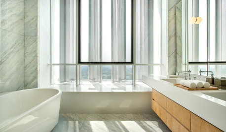 Room Tour: Bathroom Serenity in the Sky