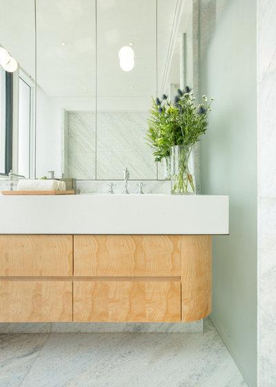 Arts & Crafts Bathroom by Brewin Design Office