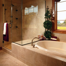 Traditional Bathroom by Barenz Builders