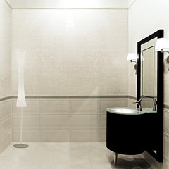 modern bathroom by Lea Bassani Design