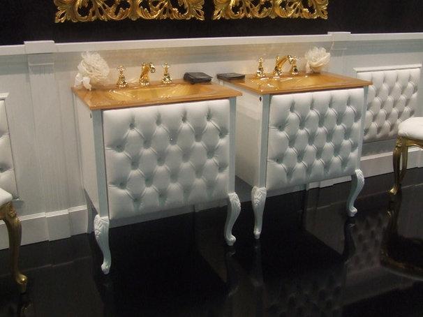 Traditional Bathroom by Lea Bassani Design