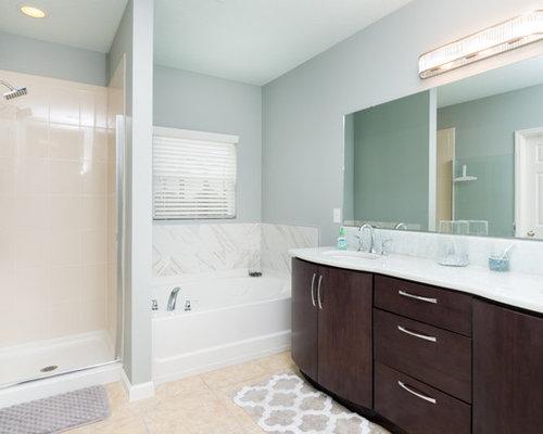 Transitional Orlando Bathroom Design Ideas Remodels Photos