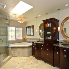 Contemporary Bathroom by Elizabeth Leahy, AKBD, Allied ASID