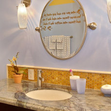 Traditional Bathroom by Elizabeth Leahy, AKBD, Allied ASID