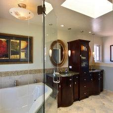 Contemporary Bathroom by Elizabeth Leahy, AKBD, Allied ASID
