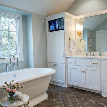 Leawood Master Bath